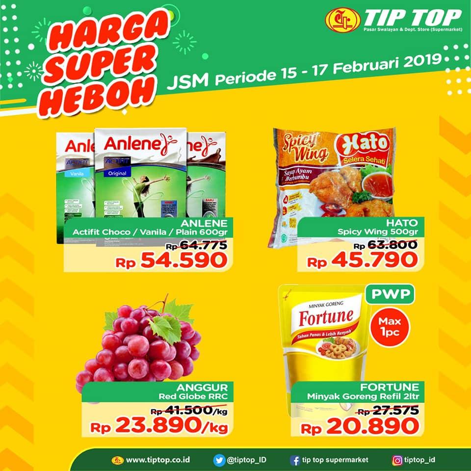 #TipTop - #Promo #Katalog JSM Periode 15 - 17 Februari 2019