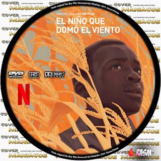 GALLETA EL NIÑO QUE DOMO EL VIENTO - THE BOY WHO HARNESSED THE WIND [COVER-DVD]