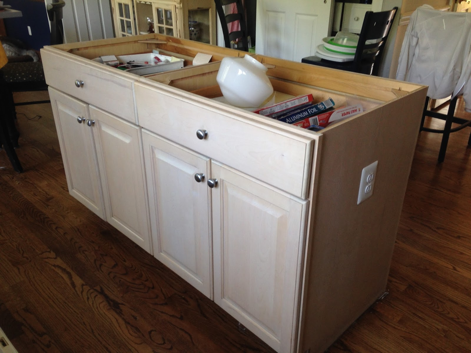 Where The Grass Is Greener A Kitchen Island Renovation And