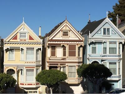 San Francisco - California Painted ladies