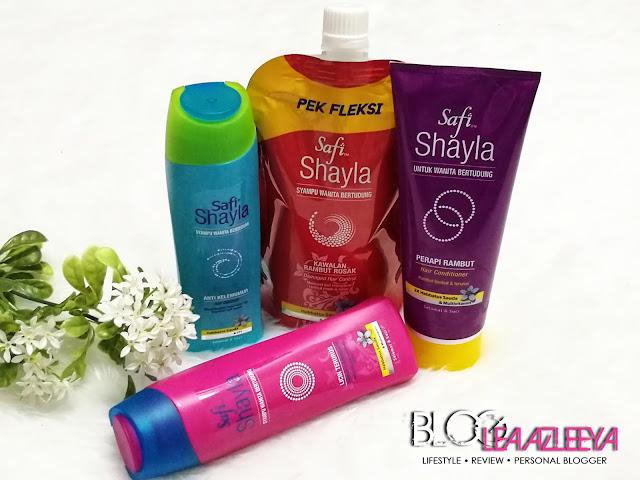 SAFI SHAYLA Syampu Wanita Bertudung