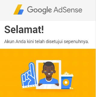 Cara Paling Mudah Diterima Google Adsense (Full Aproved)