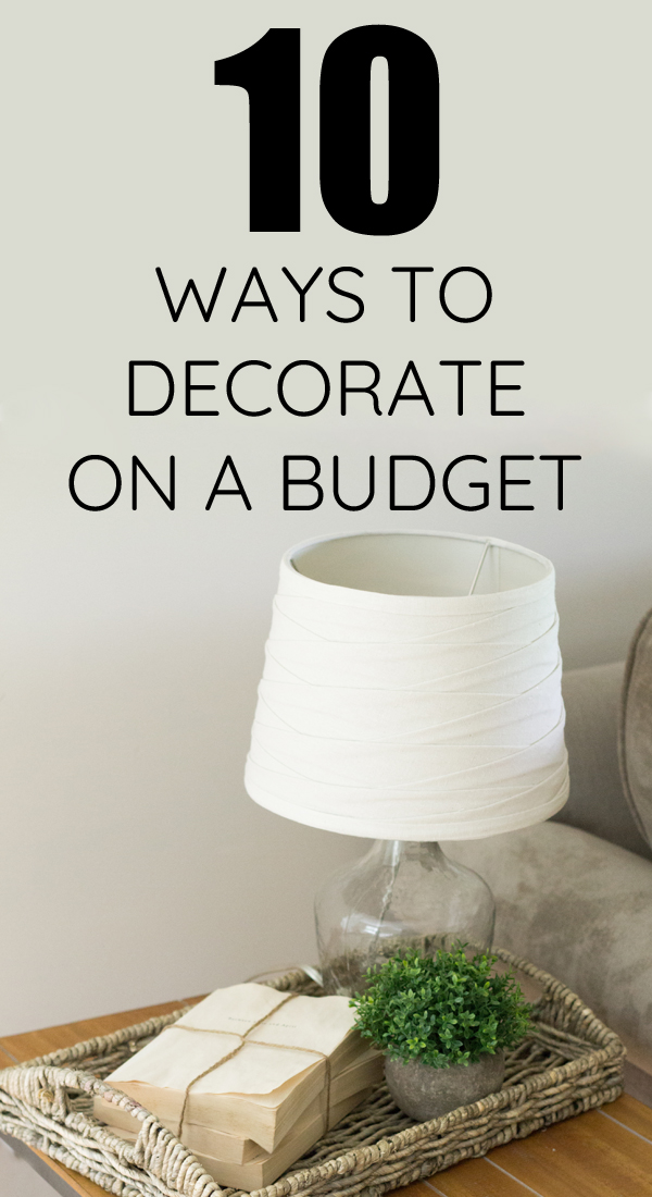 10 Super easy ideas for finding cheap home decor