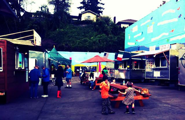 Rose City Food Cart Park