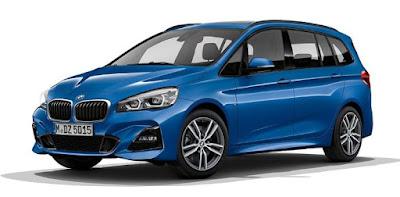 BMW série 2 Gran Tourer voiture 7 places familiale