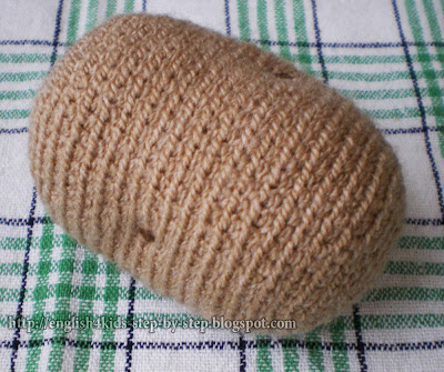 crochet potato