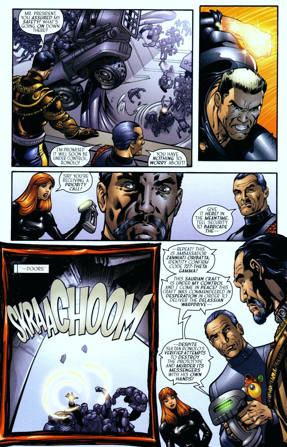Read online Sigil (2000) comic -  Issue #14 - 15