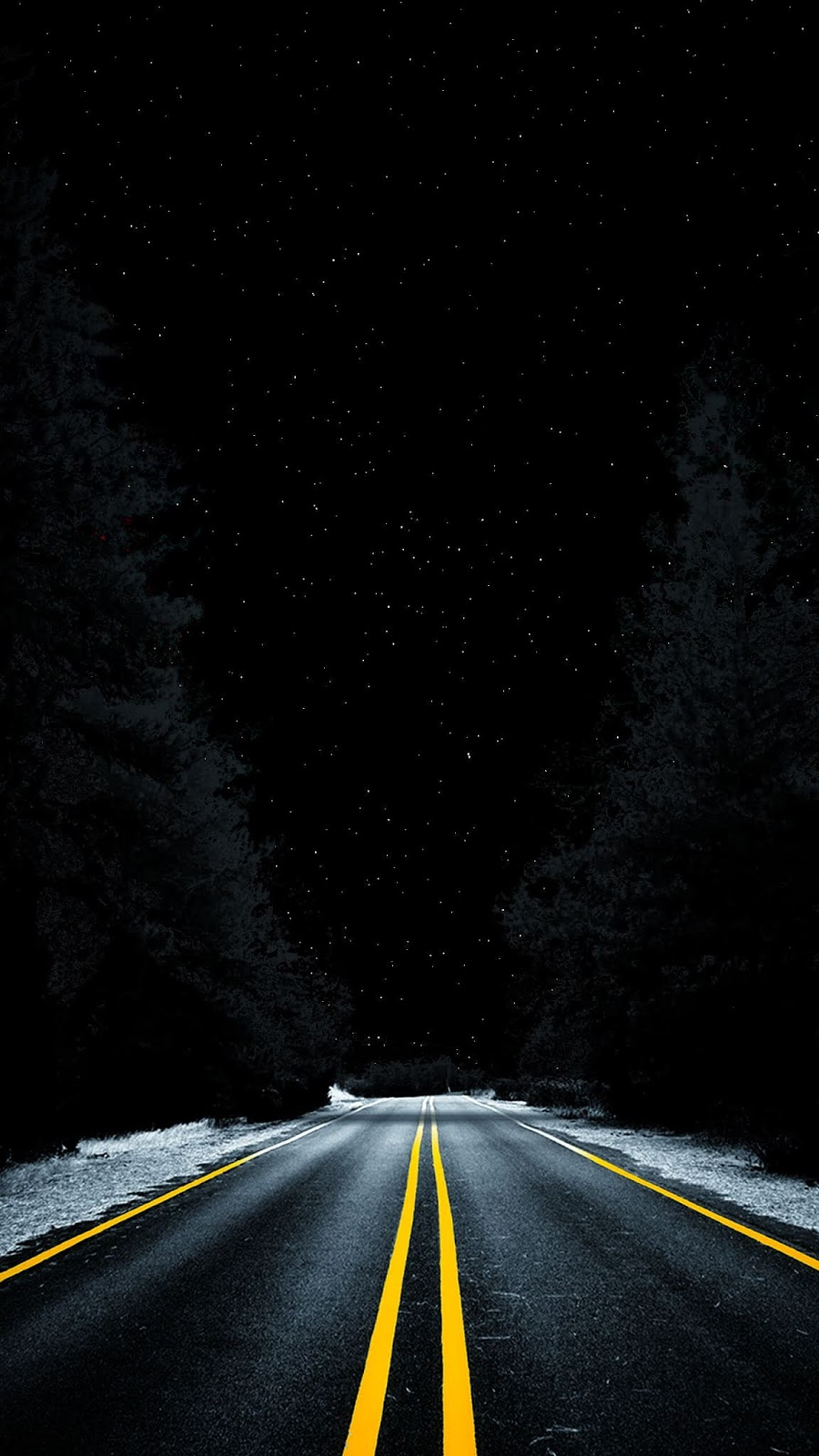Road into space (MKBHD wallpaper variant)