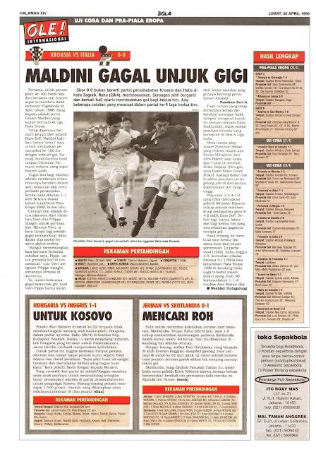 KROASIA VS ITALIA 0-0 MALDINI GAGAL UNJUK GIGI
