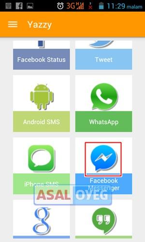 Cara Membuat Obrolan Palsu di Facebook Messenger Android