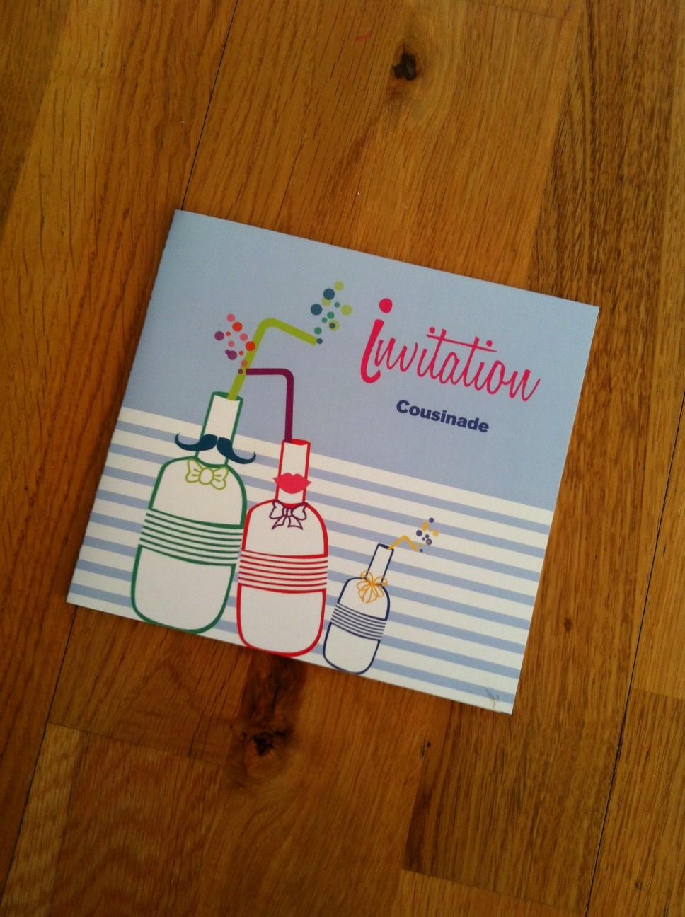 Exceptionnel Des jolies invitations pour notre première cousinade - Dans la  YR19