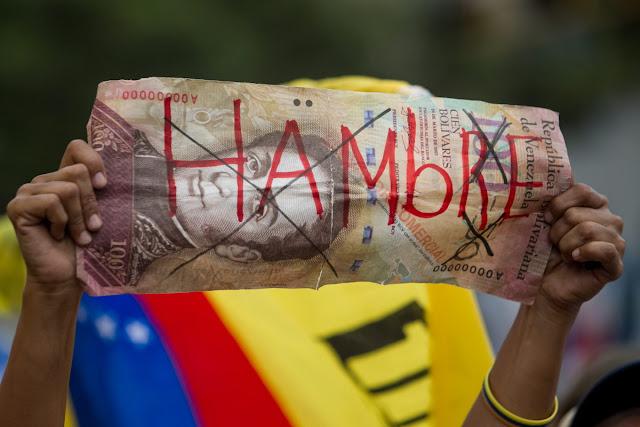 Venezuela, un país que muere de hambre