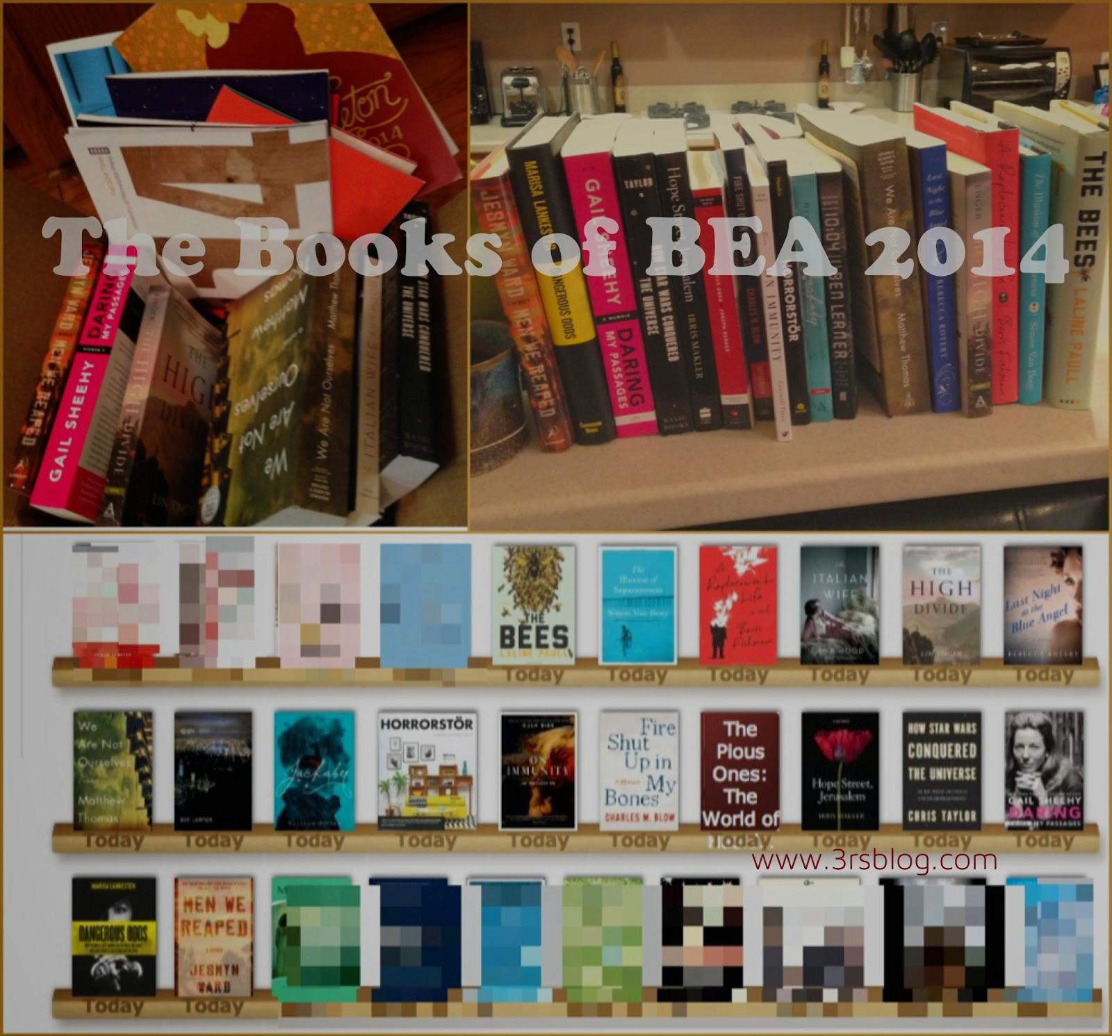 BEA 2014 books 3rsblog