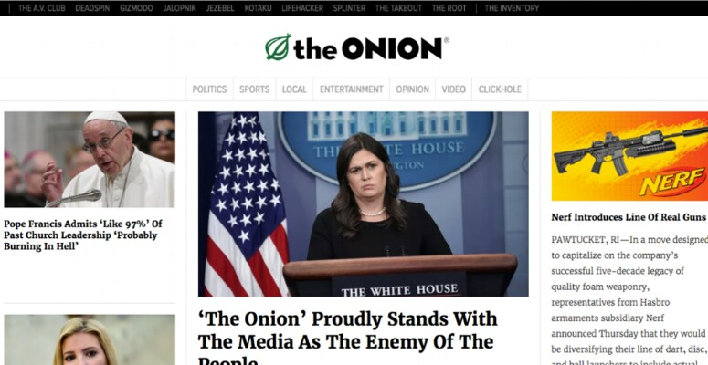 Blog The Onion
