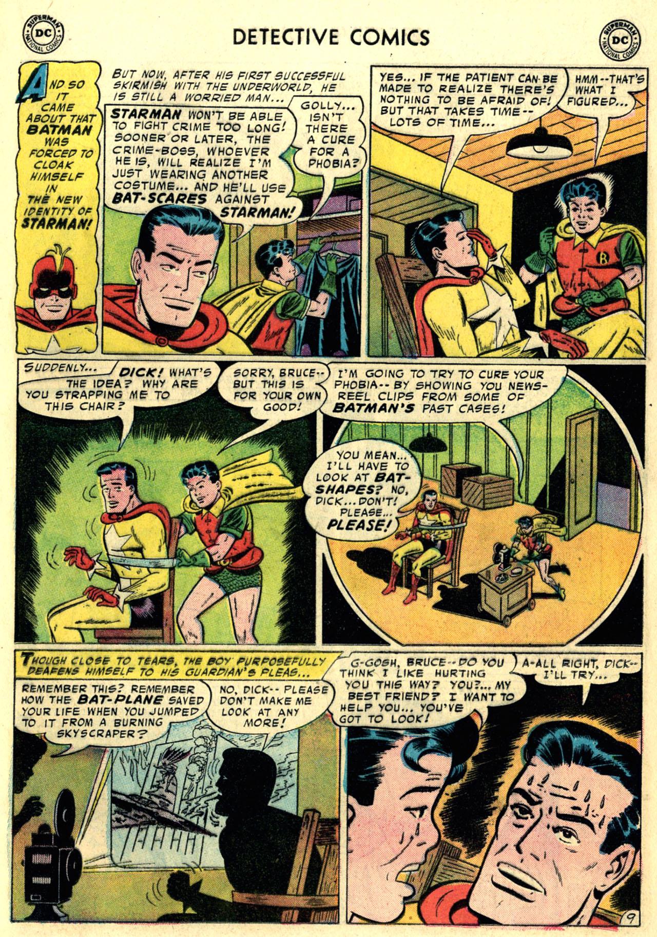 Read online Detective Comics (1937) comic -  Issue #247 - 11