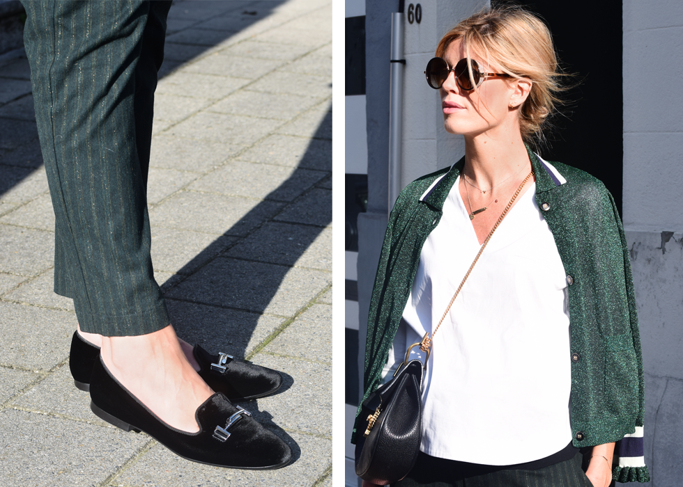 Outfit of the day, Fragile, Baum und Pferdgarten, Minitials, Tiffany Co, Jimmy Choo, Dewolf, Tod's, Nanushka, Chloé, ootd, outfit, style, maternity, pregnant, baby bump