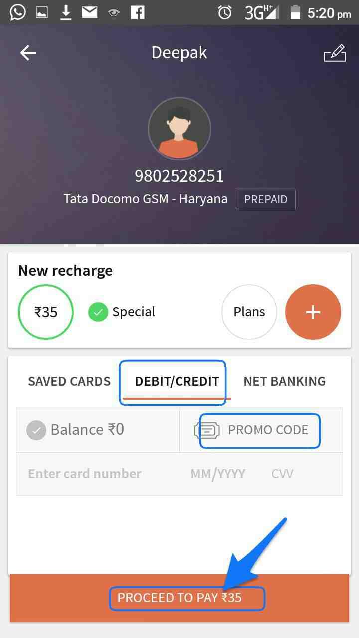 Freecharge se online mobile recharge kaise kre hindi me puri jankari