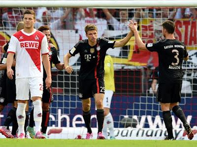 Bayern Munich gana 0 a 3 al Colonia