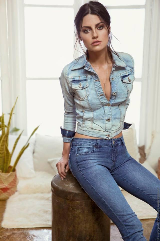 Camperas de jeans verano 2017 Peuque Jeans. Moda mujer verano 2017.