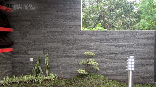 inspirasi batu alam dinding