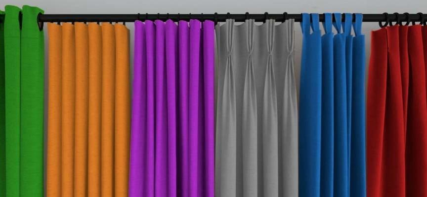 Hogar 10 cortinas decorativas para tu habitaci n c mo las quieres - Cortinas metalicas decorativas ...