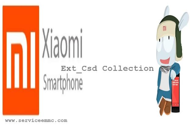 Ext_Csd Collection XIAOMI