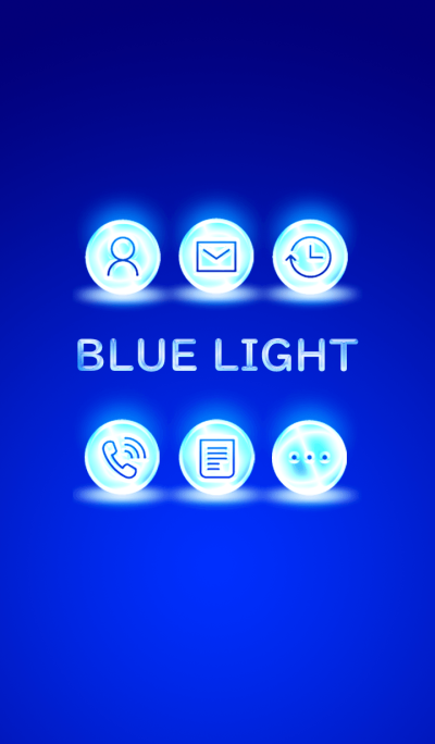 BLUE LIGHT ICON..