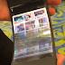 Reflex, il primo smartphone (prototipo) con schermo completamente flessibile.