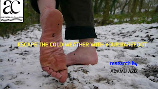 How To Keep Your Body Warm Naturally With Your Foot Or Feet.