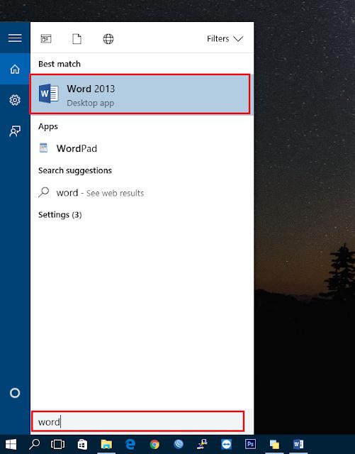 Cara Menggunakan Microsoft Office Word Bagi Pemula
