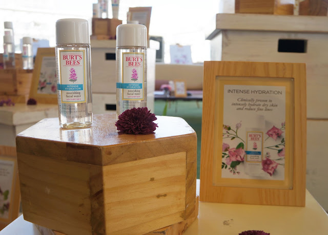 a photo of Burt's Bees Intense Hydration Nourishing Water Launch