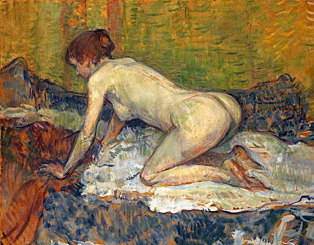Henri de Toulouse-Lautrec: Rossa accucciata