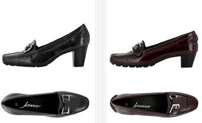 zapatos tacon piel
