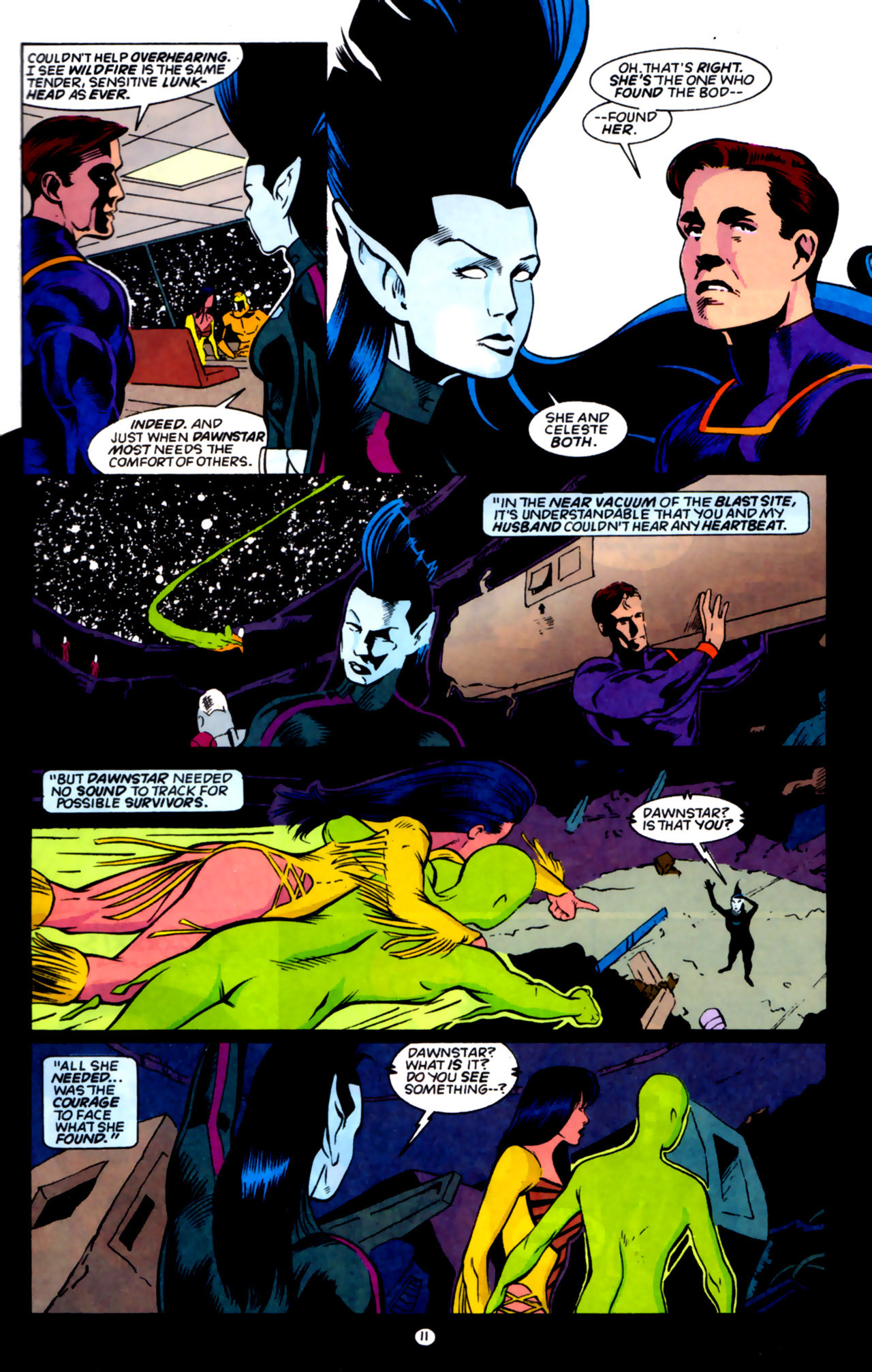Legion of Super-Heroes (1989) 59 Page 11