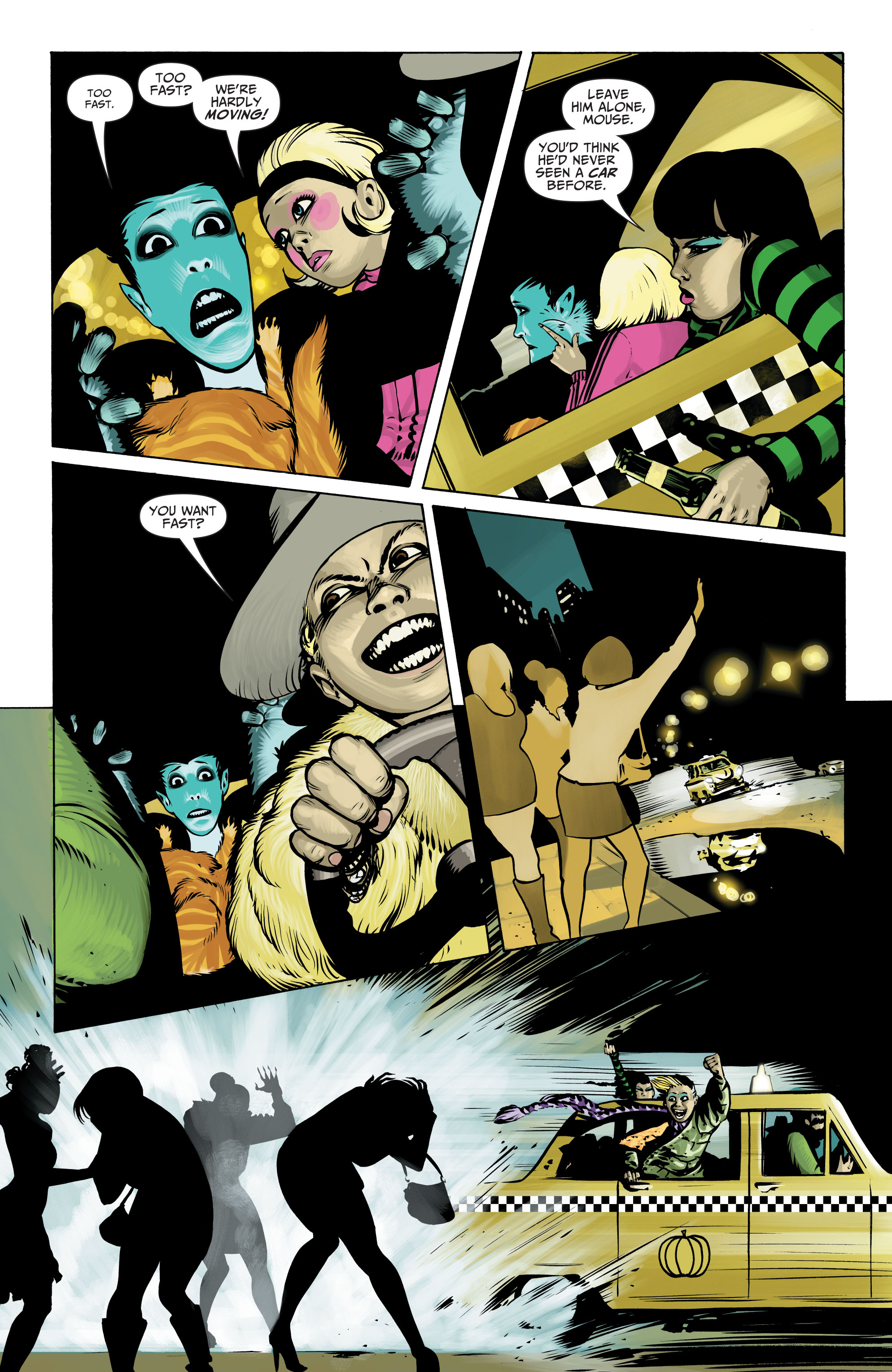 Read online Seven Soldiers: Klarion the Witch Boy comic -  Issue #3 - 6