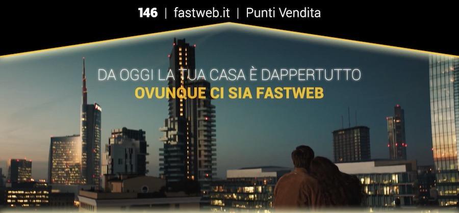 Canzone Fastweb Pubblicità la tua casa è dappertutto, Spot Novembre 2017