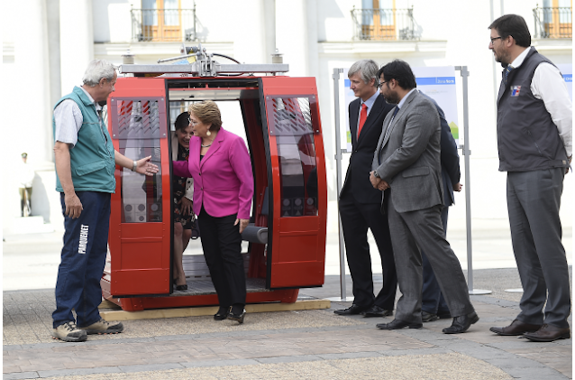 New Cable Car for Santiago.