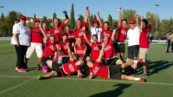 FLAG FOOTBALL - Campeonato de Europa femenino 2015 (Pinto, España). Austria imbatida reina en Europa. España concluyó en el 7º puesto