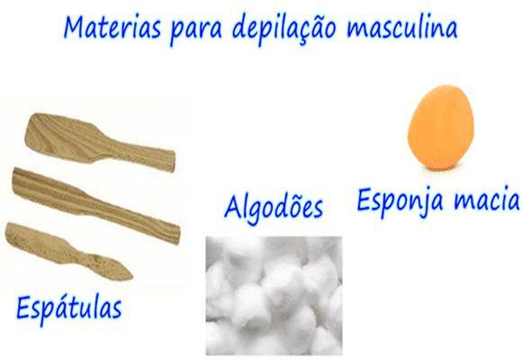 Depilação-materiais