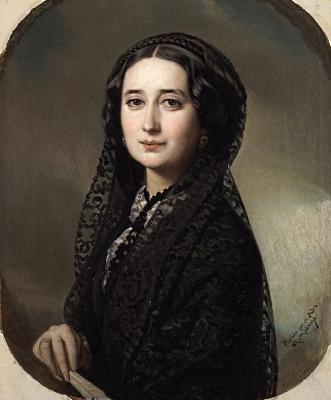 Carolina Coronado (Federico de Madrazo)