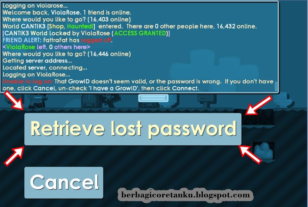 Cara Ganti Password Akun Growtopia Dengan Mudah Growtopedia