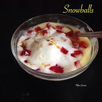Snowballs Dessert