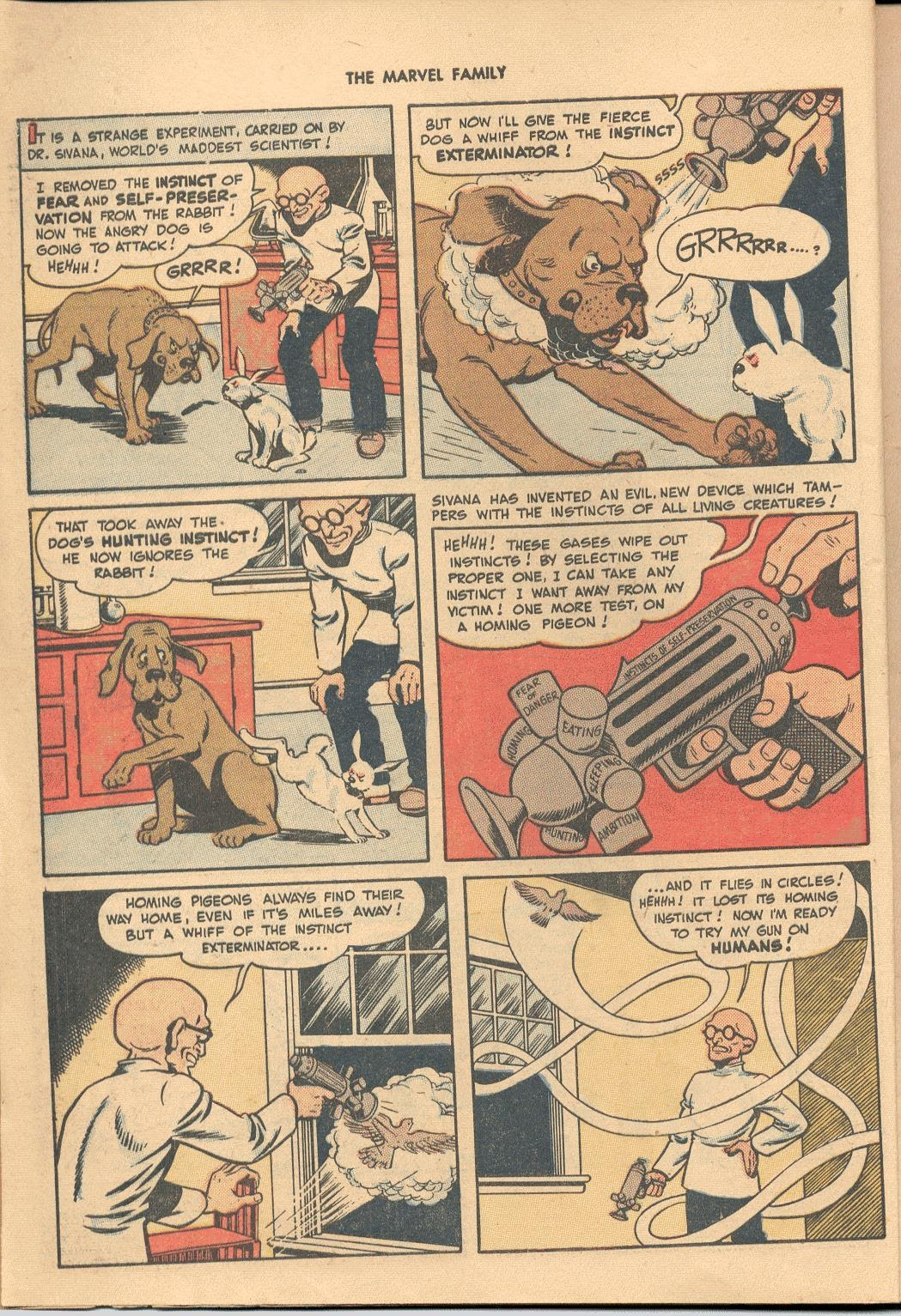 The Marvel Family issue 38 - Page 4