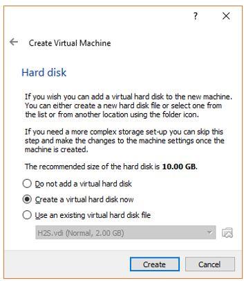 Create A Virtual Hard Drive for Ubuntu Virtual Machine