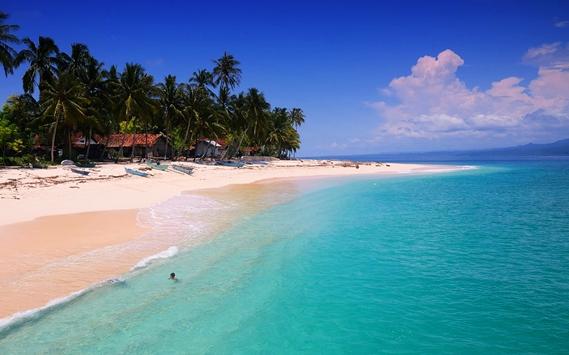 daftar tempat wisata di pesisir barat lampung - Pulau Pisang