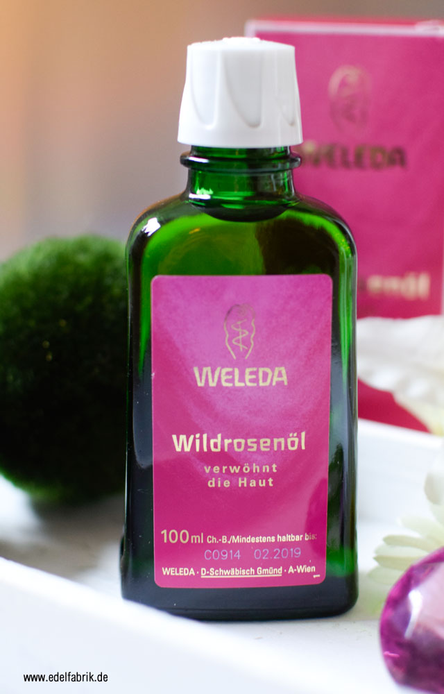 Review des Weleda Wildrosenöl