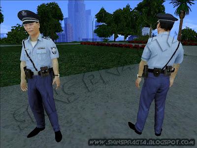 GTA SA - Skin Japanese Policeman