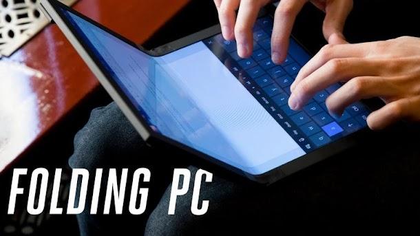 Lenovo Perkenalkan PC Lipat Pertama di Dunia
