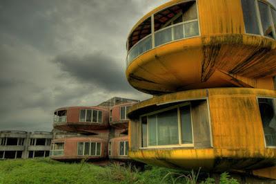 Una villa de ciencia ficción en la vida real