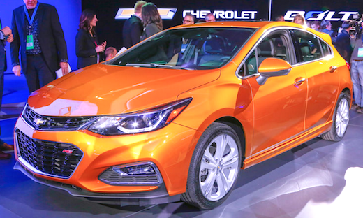 2019 Chevrolet Cruze Hatchback Price